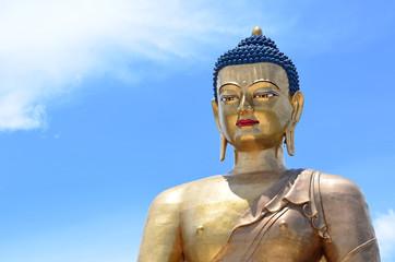 The Bronze Buddha in Thimphu