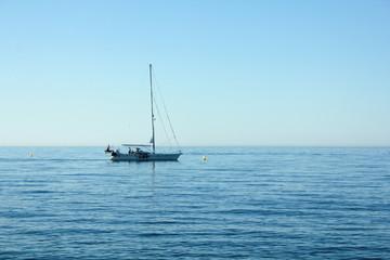 Summer sailing boat