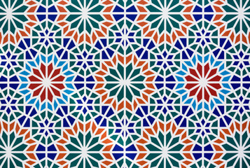 Texture of Arabic tile