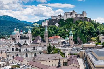 Salzburg - Stadtansicht, Österreich