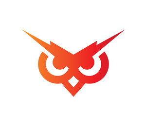 Modern Education Owl Logo - Lightning Future Next Generation Association