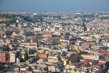 Viewpoint over Naples, Italy