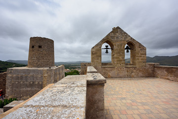 Castle of Capdepera. Municipality Capdepera, island Majorca, Spain.