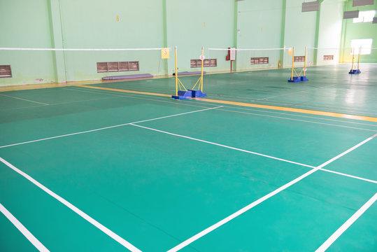 badminton courts indoor