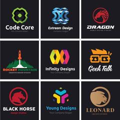 Logo set ,Logo Collection,Lion logo,Vector Logo template