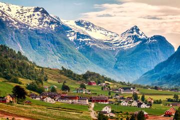 Olden Norway Mountain View