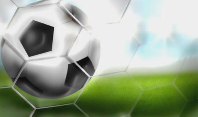 Russia 2018 Soccer Football 3D Render