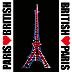 Paris - Tour Eiffel - British