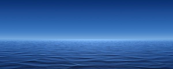 illustration with Sea panorama. super panorama - fototapety na wymiar