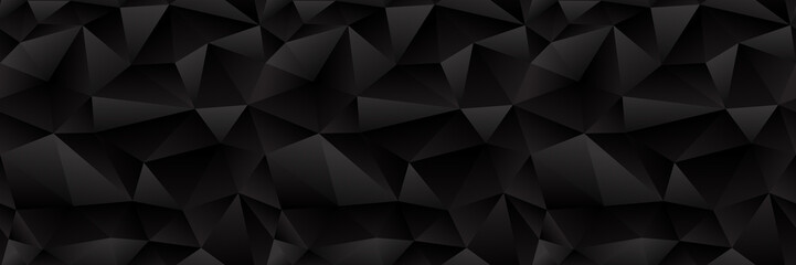 Seamless Black Triangle Pattern