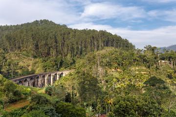 Landscape with Nine Arch Bridge