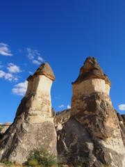 トルコ カッパドキア パシャバーのキノコ岩