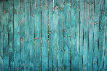 wooden planks, wood background, green
