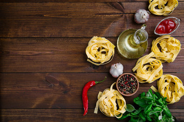 Fresh Italian Pasta Fettuccine