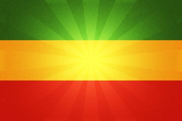 Rastafarian Flag African Background