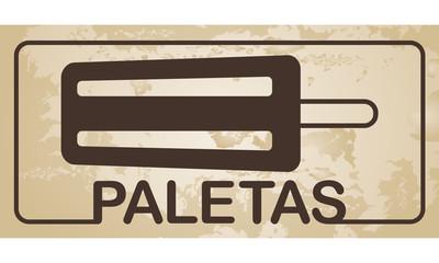 Paletas vector