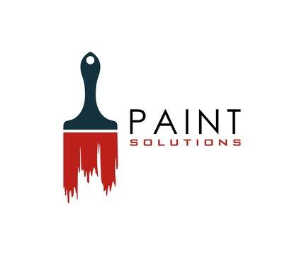 Paint brush logo