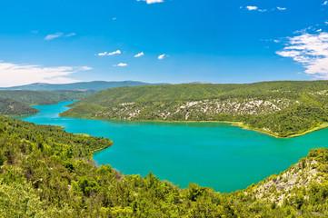 Visovac lake in Krka national park