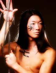 young asian boy