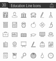 Ecucation Icons