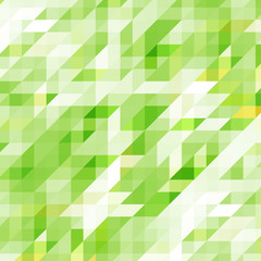 Vector geometric abstract background with triangles and lines.