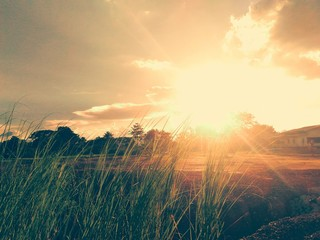 Beautiful of sunset