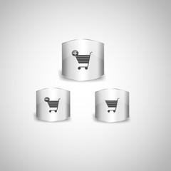 Eshop, shopping icons