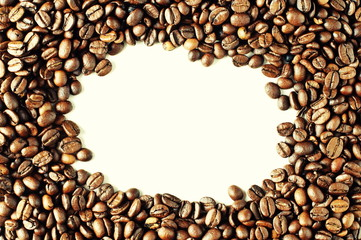 background of coffee beans