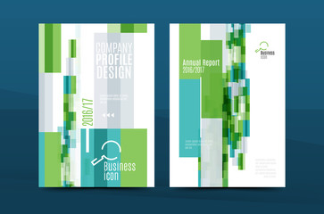 Annual Report A4 page cover