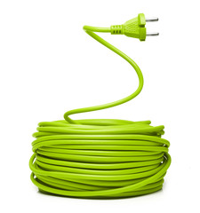 Green electric cable