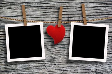 Show love photo frame