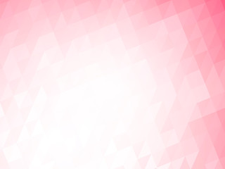 abstract geometric pink background