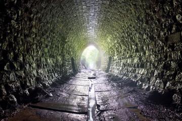 Old Tunnel with name Kopras, Slovakia