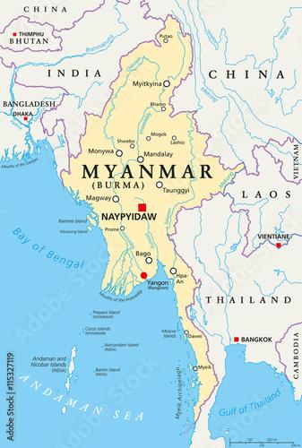 Naypyidaw Map Pdf