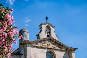 Chapelle des Pénitents Gris de la cité lacustre de Aigues-Mortes