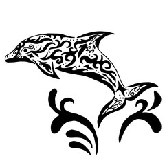 Dolphin tatoo