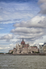 View of the Parliament, Budapest, Hungary