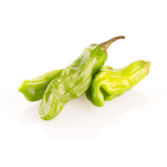 Three Shishito Peppers