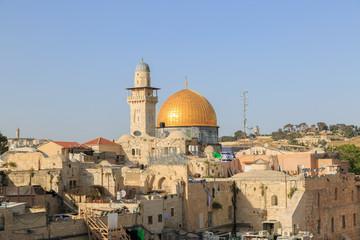 Mousque of Al-aqsa in Jerusalem