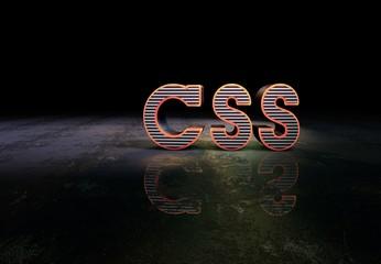 CSS, Slogan, 3D Typography