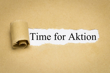 Time for Aktion