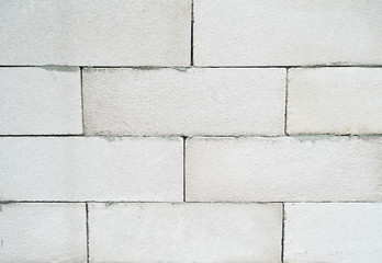 Light weight cellular concrete block texture