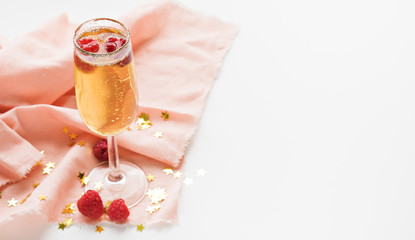 drink image. glass of champagne