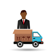 transportation delivery service box warehouse