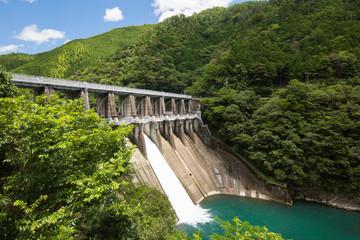 Photo sur Plexiglas Barrage 高知県四万十町 津賀ダム