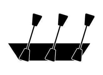 kayak isolated icon design