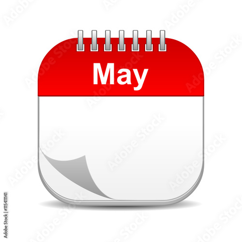 Calendar May Icon : Quot may calendar icon stock photo and royalty free images on