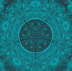 Watercolor mandala. Decor for your design