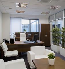 Modern interior of office.