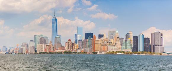 Skyscrapers in lower Manhattan, New York